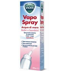 Vicks vapospray acqua di mare bebe bambini isotonico 100 ml