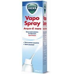 Vicks vapospray acqua di mare isotonico 100 ml