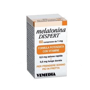 Melatonina dispert 1mg di melatonina 60 compresse