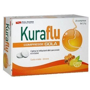 Kuraflu gola limonemiele compresse