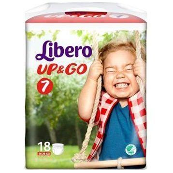 Libero upgo pannolino per bambino taglia 7  18 pezzi