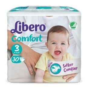 Libero comfort pannolino per bambino taglia 1 59 kg  28 pezzi