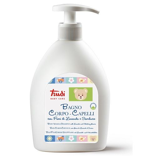 Trudi baby care bagno corpocapelli 500 ml