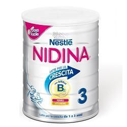 Nidina latte di crescita 3 polvere 800 g