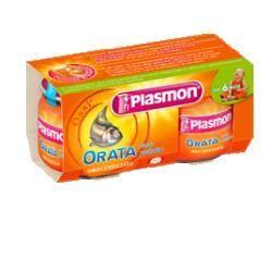Plasmon omogeneizzato orata 80 g x 2 pezzi
