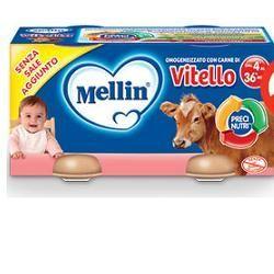 Mellin omogeneizzato vitello 80 g 2 pezzi