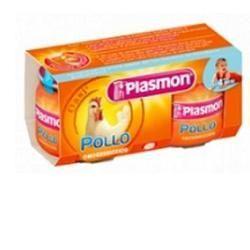 Plasmon omogeneizzato pollo 120 g x 2 pezzi