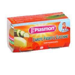 Plasmon omogeneizzato carotapatatazucc 80 g x 2 pezzi