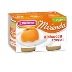 Plasmon omogeneizzato yogurt albicocca 120 g x 2 pezzi