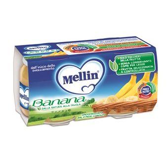 Mellin omogeneizzato banana 100 g 2 pezzi