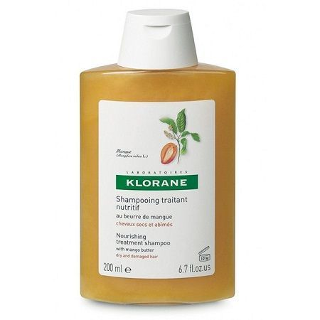 Klorane shampoo burro mango 200 ml
