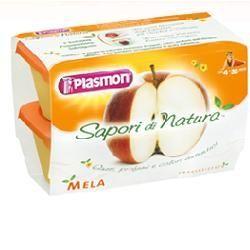 Plasmon sapori di natura omogeneizzato mela 100 g x 4 pezzi