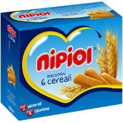 Nipiol biscottini 6 cereali 800 g
