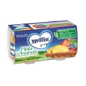 Mellin omogeneizzato mela ananas 100 g 2 pezzi
