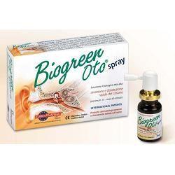 Soluzione otologica per rimozione e dissoluzione rapida del cerume biogreen oto spray