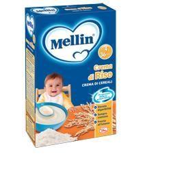 Mellin crema riso 250 g nuova formula