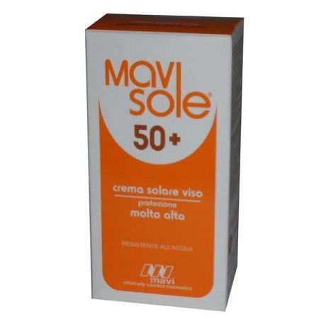 Mavisole spf 50 crema viso protezione molto alta 60 ml