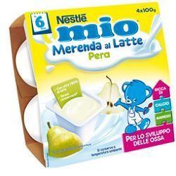 Nestle mio merenda lattea pera 100 g 4 pezzi
