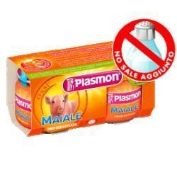 Plasmon omogeneizzato maiale 80 g x 2 pezzi