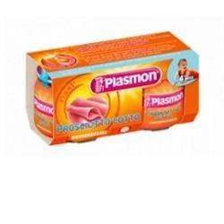 Plasmon omogeneizzato prosciutto cotto 80 g x 2 pezzi