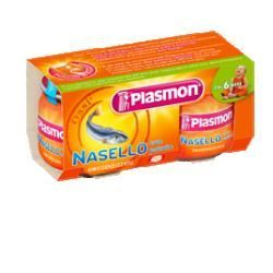 Plasmon omogeneizzato nasello patate 80 g x 2 pezzi