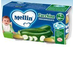 Mellin omogeneizzato zucchine 80 g 2 pezzi