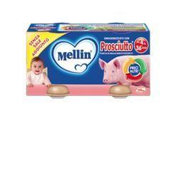 Mellin omogeneizzato prosciutto 80 g 2 pezzi
