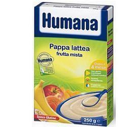 Humana pappa lattea frutta mista senza glutine 250g