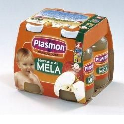 Plasmon nettare di mela 125 ml x 4 pezzi