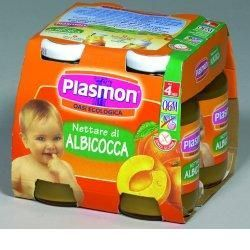 Plasmon nettare di albicocca 125 ml x 4 pezzi