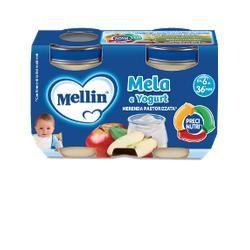 Mellin merenda yogurt mela 2 x 120 g