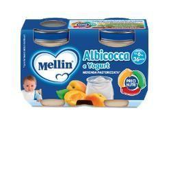 Mellin merenda yogurt albicocca 2x120 g