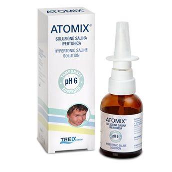 Atomix soluzione salina ipertonica spray nasale 30 ml