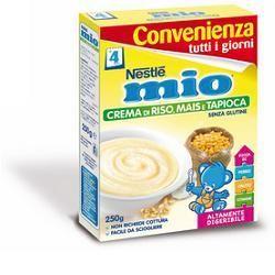 Nestle mio crema riso mais tapioca 250 g