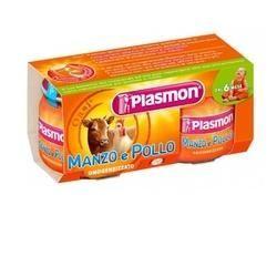 Plasmon omogeneizzato manzopollo 80 g x 2 pezzi