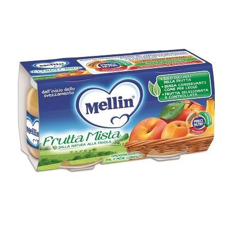 Mellin omogeneizzato frutta mista 100 g 2 pezzi