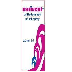 Spray nasale antiedemigeno narivent flacone 20 ml
