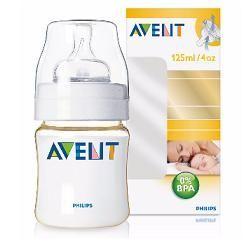 Avent biberon classic in pes 0 bpa miele 125 ml