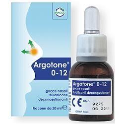 Argotone 012 soluzione per lavaggio nasale 20 ml