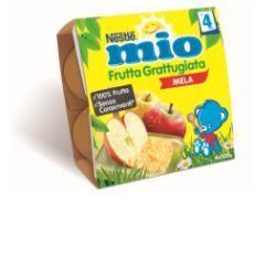 Nestle mio frutta grattugiata mela 100 g 4 pezzi