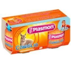 Plasmon omogeneizzato coniglio 80 g x 2 pezzi