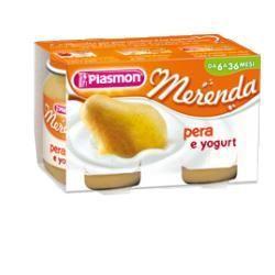 Plasmon omogeneizzato yogurt pera 120 g x 2 pezzi