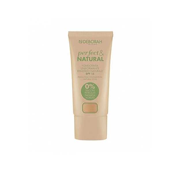 Deborah  Perfectnatural  fondotinta 01 light beige