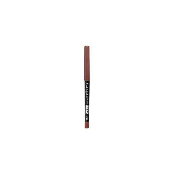 Pupa  Made to last definition lips  matita automatica labbra 101 natural brown
