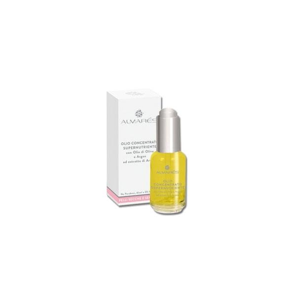 Almars  Olio concentrato supernutriente con olio di oliva e argan pelli secche e sensibili 30 ml
