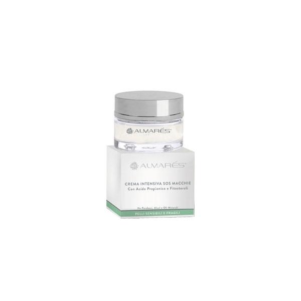 Almars  Crema intensiva sos macchie con acido propionico e fitosteroli pelli sensibili e fragili 50 ml