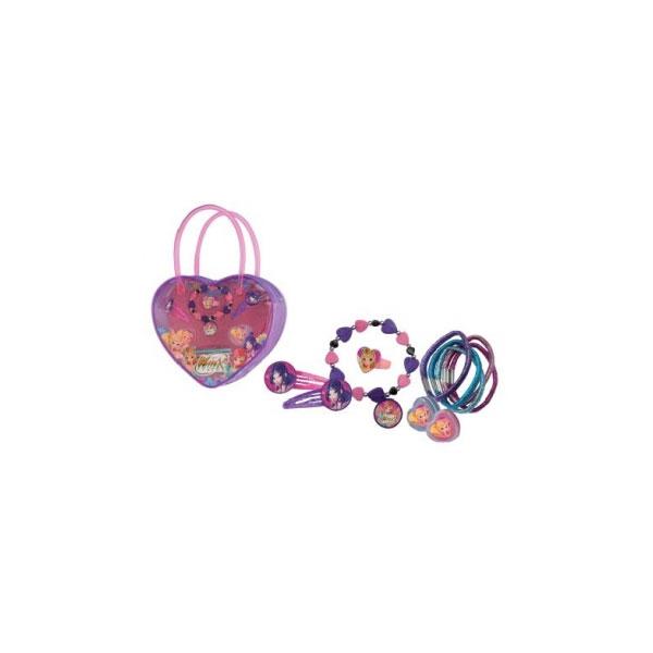 Winx  Trousse borsetta cuore con accessori