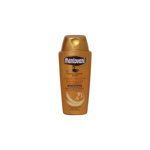Mantovani  Shampoo capelli 2in1 400 ml