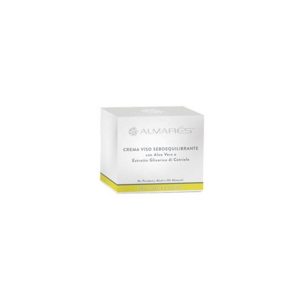 Almars  Crema viso seboequilibrante per pelli miste e grasse 50 ml