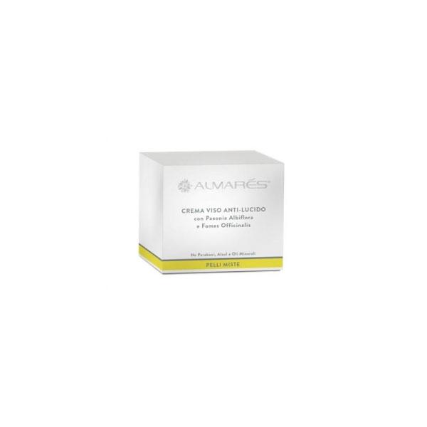 Almars  Crema viso antilucido per pelli miste 50 ml